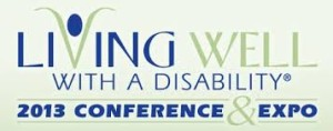 living well with a disability conference logo