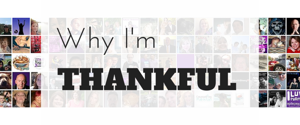 Why I'm THANKFUL