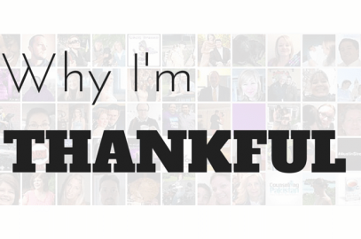 10 reasons why I'm thankful