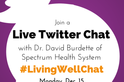 Mark your calendar for the next #LivingWellChat