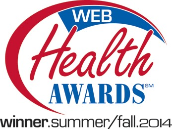 Web Health Award winner