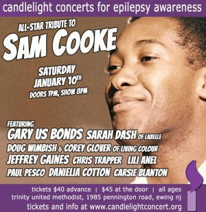 Candlelight Concert celebrates the wonderful world of Sam Cooke