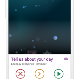 Epilepsy Health Storylines: New feature just for Android users!