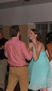 Dancing the night away, one of my favorite activities!
