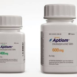 Sunovion's Aptiom® gets FDA Approval as Monotherapy for Partial-Onset Seizures
