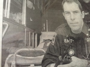 handsome EMT