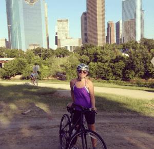 Abby - Biking