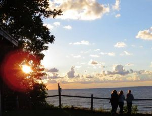 Camp Lambec, on the shore of Lake Erie.