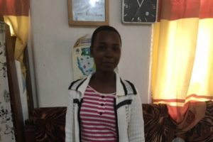 Eppy, student in Tanzania