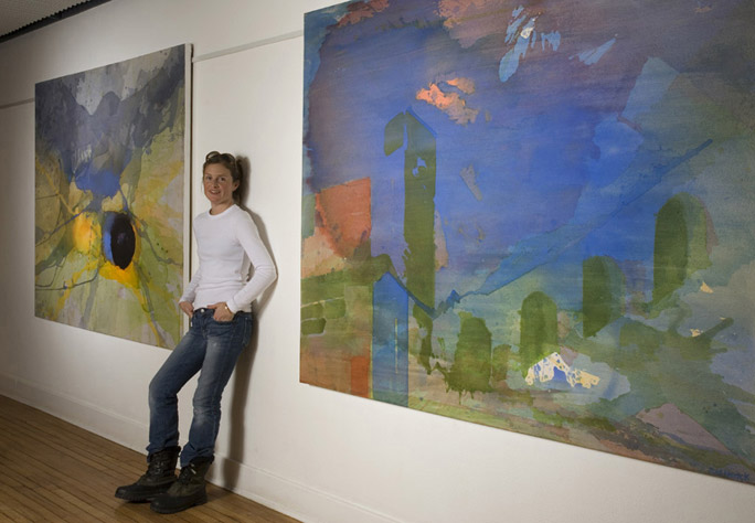 Artist with epilepsy is making waves in the NYC art scene